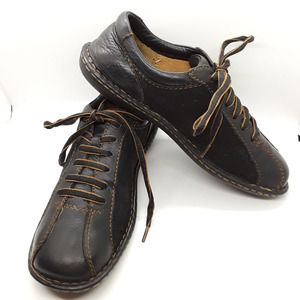 Born Oxfords  Brown Leather Suede   8/39